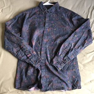 Globe - Floral Buttondown Shirt SIZE M